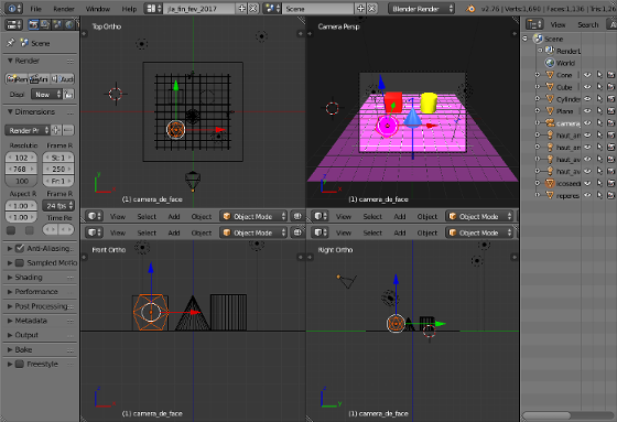 La 3D informatisée, avec Blender et sans Interface_blender