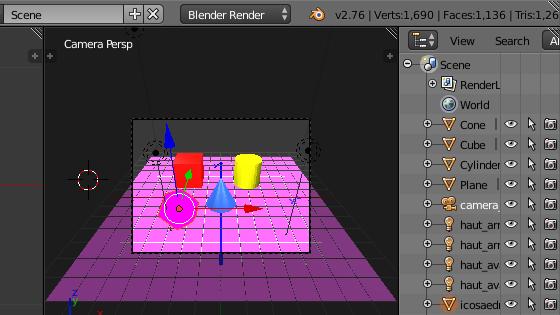 La 3D informatisée, avec Blender et sans Interface_blender_detail1